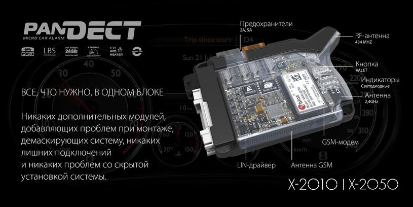 Особенности автосигнализации Pandect X-2010
