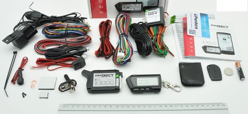 Комплектация автосигнализации Pandect X-3000