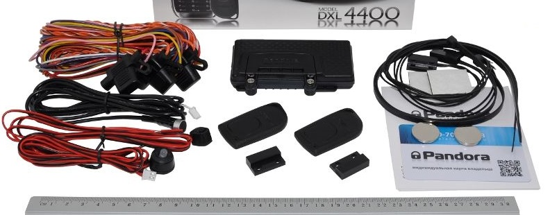 Комплектация автосигнализации Pandora LX 4400