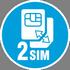Два GSM-оператора на связи**
