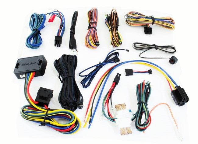Комплектация автосигнализации Straline А93 GSM