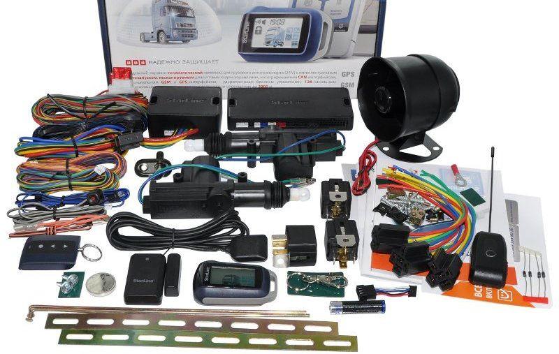 Комплектация автосигнализации Straline T94 GSM/GPS