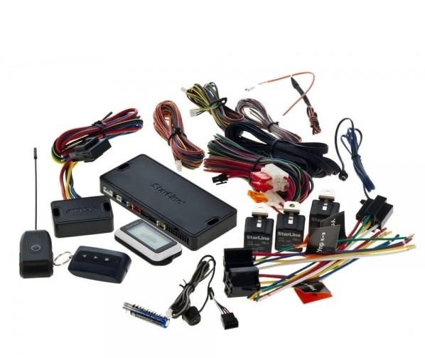 Комплектация автосигнализации Straline А93 CAN+LIN