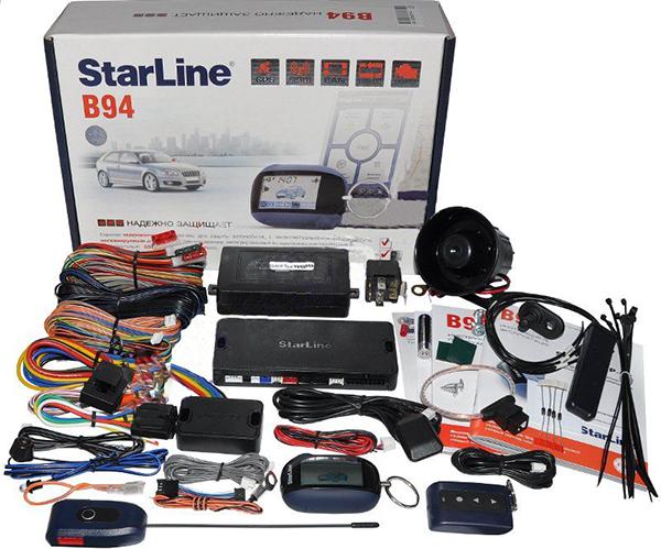 Комплектация автосигнализации Straline В94 GSM GPS