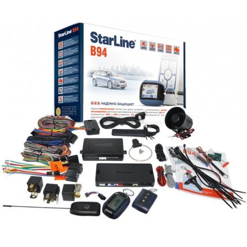 Комплектация автосигнализации Straline В94 GSM