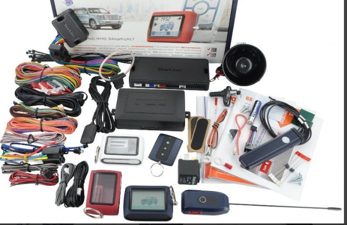 Комплектация автосигнализации Straline D94 GSM GPS