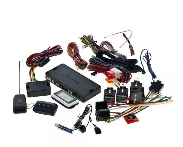 Комплектация автосигнализации Straline E90