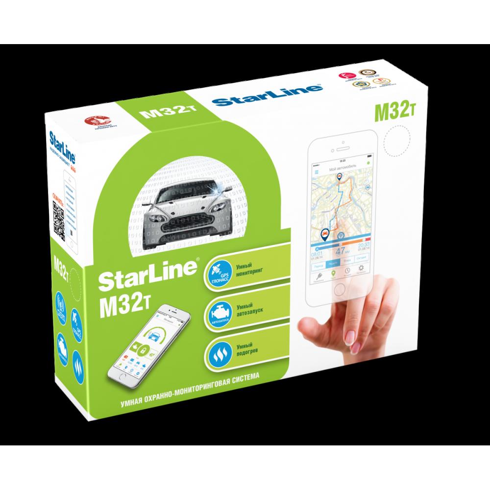 StarLine M32 CAN T охранно-телематическая система GSM GPS