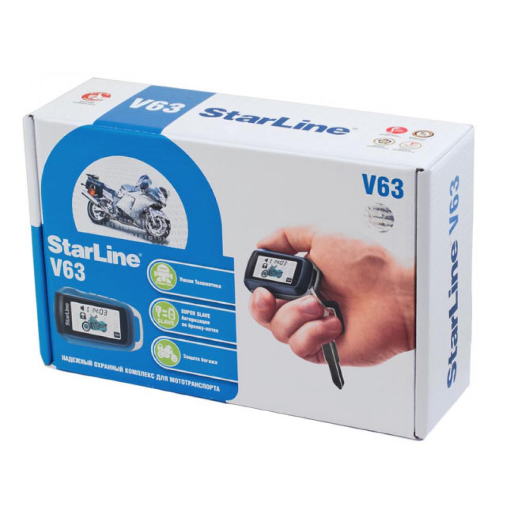 Мотосигнализация StarLine V63 Moto