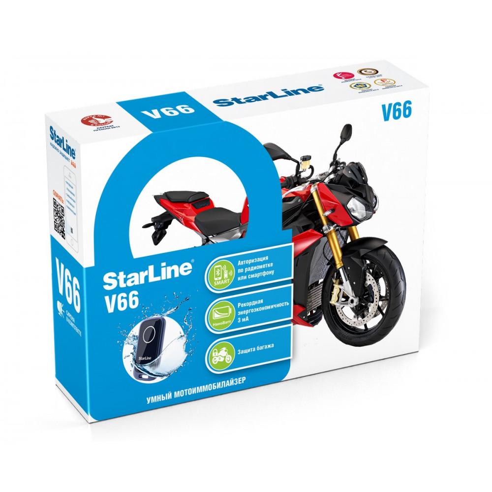 Мотосигнализация StarLine V66 Moto